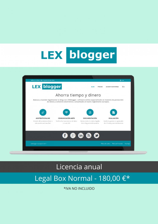 Legal Box Normal - LEXblogger