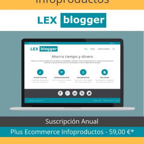Plus Ecommerce Infoproductos - LEXblogger