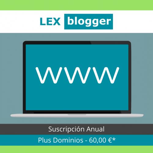 Plus Dominios - LEXblogger