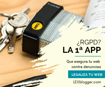 LEXblogger tiene el RGPD actualizado por abogados que te dan la mejor app para tu web legal en la Unión Europea