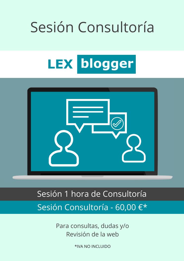 Sesión Consultoría - LEXblogger
