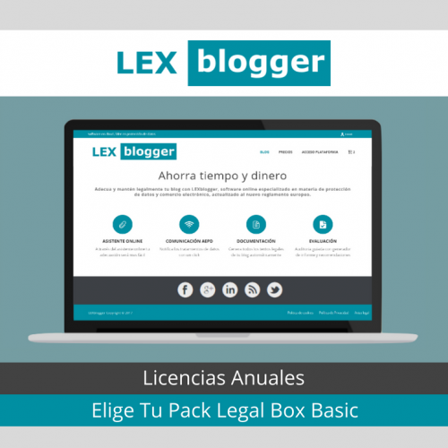 Pack Licencias Legal Box Basic - LEXblogger
