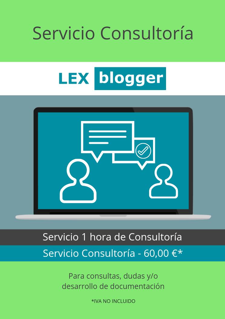 Servicio Consultoria - LEXblogger